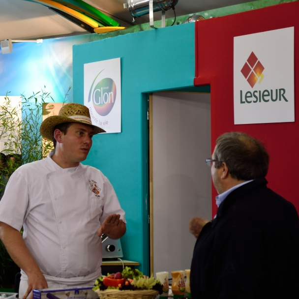 Animation culinaire sur salon en ile de France